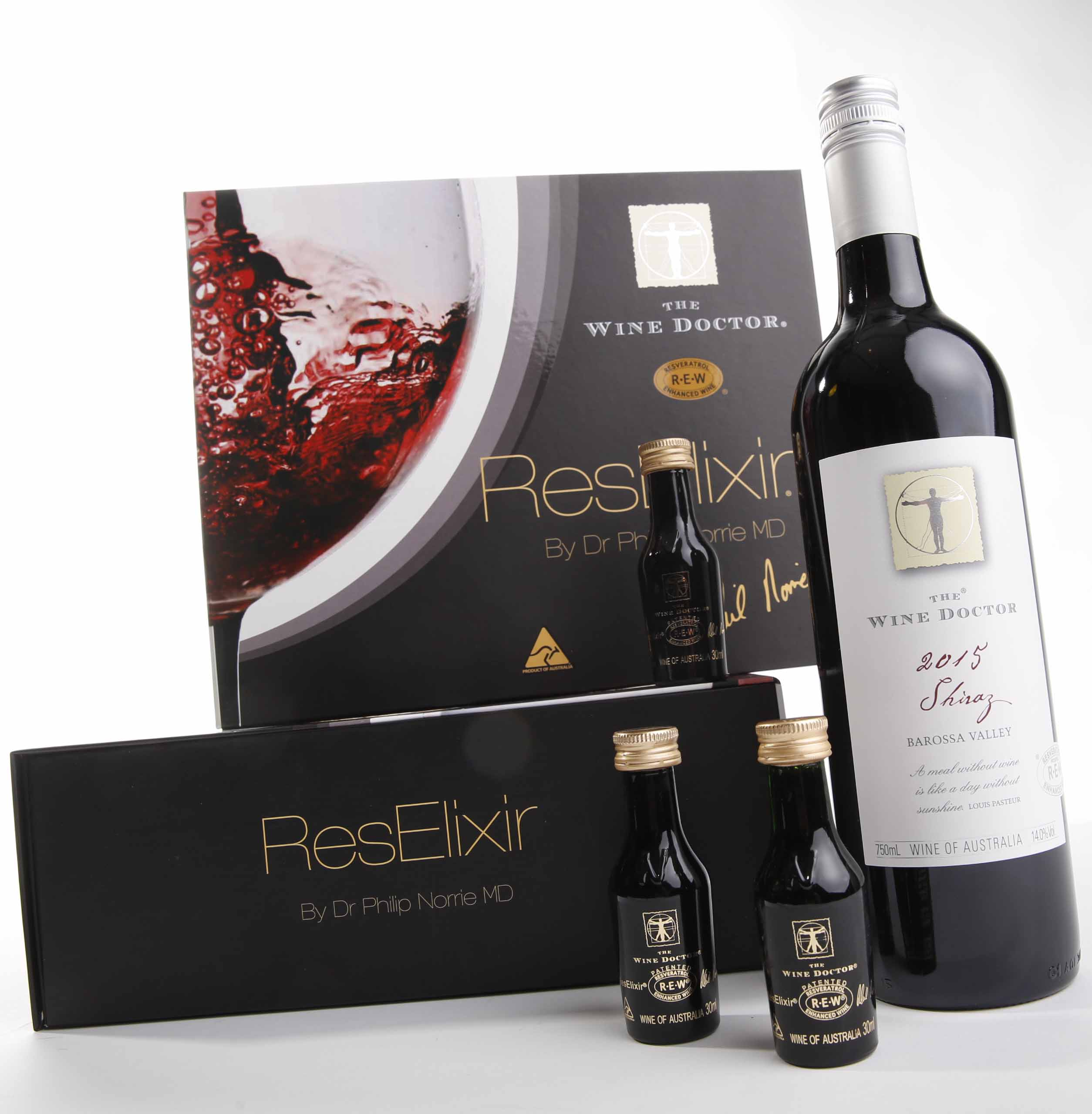 Resveratrol Enhanced Wine, the Wine Doctor